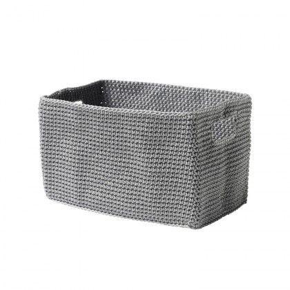 Basket - GREY large rectangular