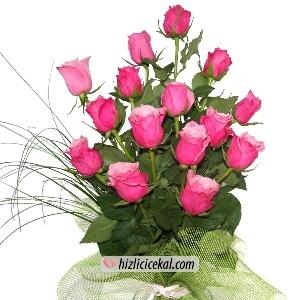 15'li Pembe Gül Buketi  Hızlı Çiçek Al ile sevdiklerinize aynı gün teslimat seçeneği ile 15 adet pembe güller den gül buketi sipariş edin.  89,00 tl + kdv  http://www.hizlicicekal.com/cicekler/cicekciler/cicek/71/15--li-pembe-gul-buketi/