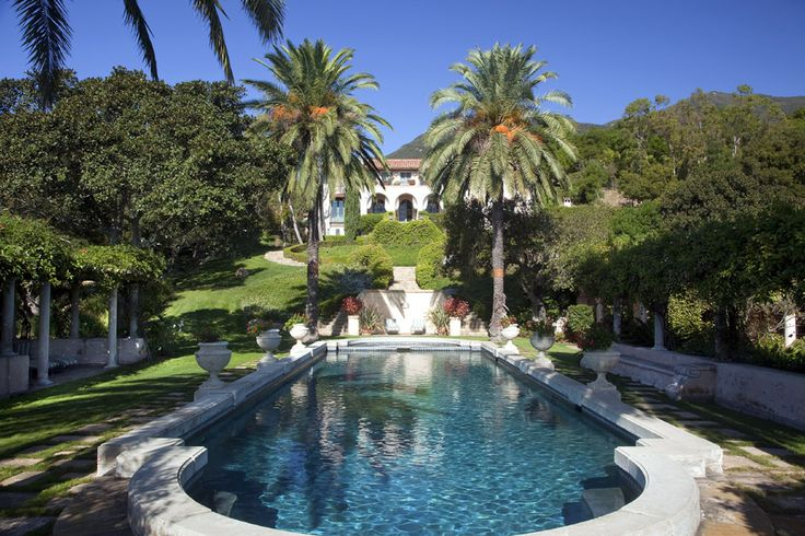 There are no words needed here.Pools Area, Hollywood Glamour, Outdoor Living, Santa Barbara, Dreams House, Montecito California, Outdoor Spaces, Dreams Pools, Diandra Douglas
