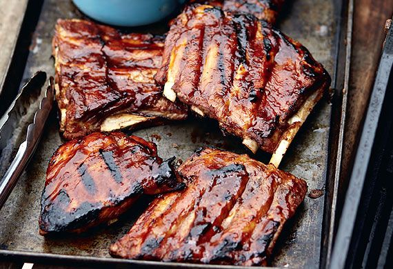 Yes, they can be sticky, but ribs can be the perfect finger food for people who don't mind licking their digits. So challenge your local steakhouse's reputation for ribs with these recipes next time you're entertaining at home.