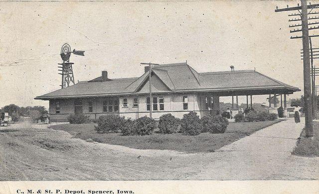 Railroad Depot, Spencer, Iowa