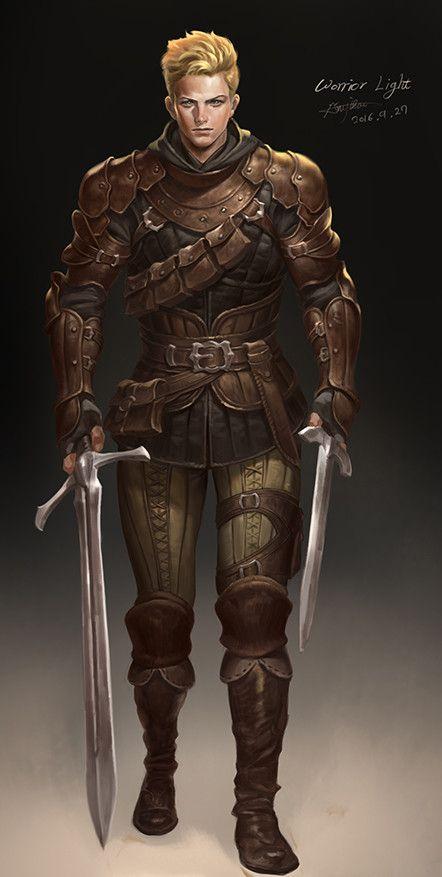 warrior_light, Yisoo An on ArtStation at https://www.artstation.com/artwork/lL8Xo