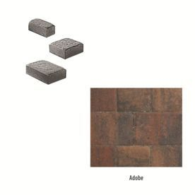 Oldcastle Cambridge Adobe Interlocking Sections Paver (Common: 11-In X 11-In; Actual: 10.65-In X 10.65-In) 10158931