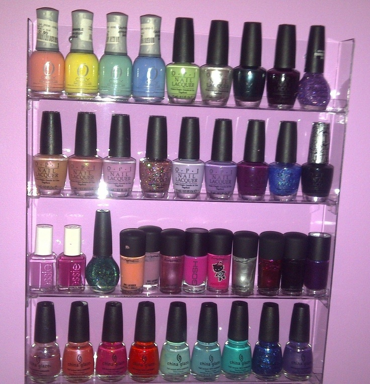 44 best Nail Polish Storage images on Pinterest | Organizers, Nail ...
