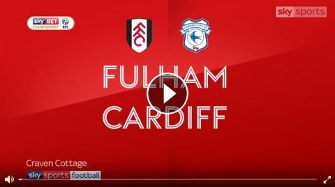 Video: Fulham 1 - 1 Cardiff City Highlights and All Goals Online - Sky Bet Championship - 9 September 2017 - FootballVideoHighlights.com. You are watc...