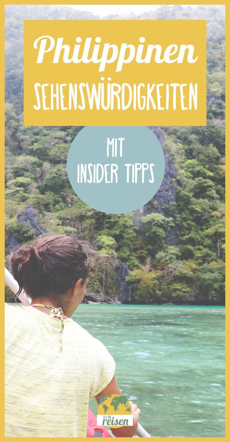 PHILIPPINEN ➸ Sehenswürdigkeiten auf deiner Reise mit unseren Insider Tipps!