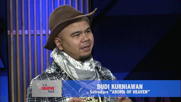 """Creative Talk, obrolan seputar industri kreatif dan budaya pop, kali ini menemui Budi Kurniawan. Budi Kurniawan adalah sutradara dari """"Aroma of Heaven"""", sebuah film dokumenter yang menggambarkan sejarah kopi Indonesia.  Di YouTube: https://youtu.be/Q6voVjnDN6c"""