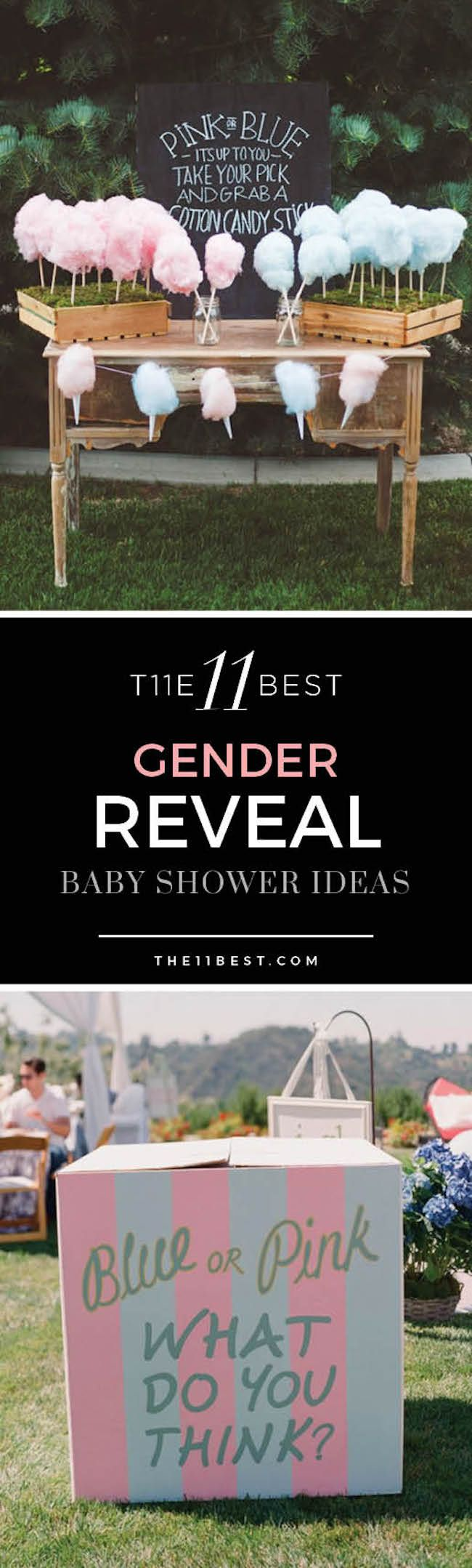 The BEST Gender Reveal Party Ideas