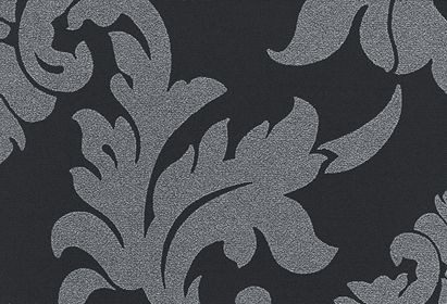 'Baroque Raven' - a bold patterned Senses Roller Blind