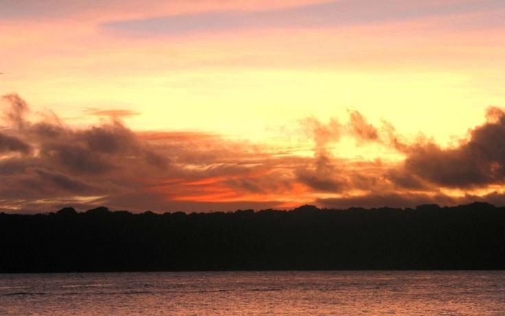 Sunset, Bokissa Island, Vanuatu.