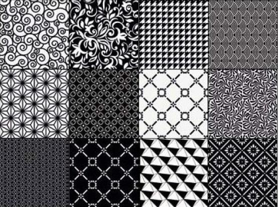 dlažba se vzorem Moving Black natural 29.75x29,75cm výrobce Aparici