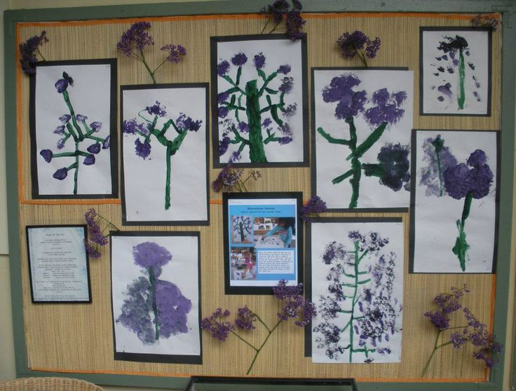 a great example of documenting student work on a specific project to display in the classroom so that children can share their work with their families, classroom, and reflect back on their creative experience