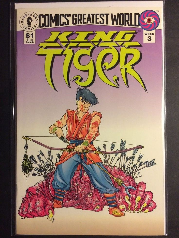 Comics Greatest World King Tiger (Darkhorse Comics) week3