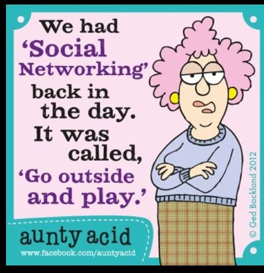 Aunty acid too bad I don't do it so HA HA HA IN YOUR FACE AUNTY ACID ALSO IF I Went outside and played how would I hear about this and I'm NOT outside