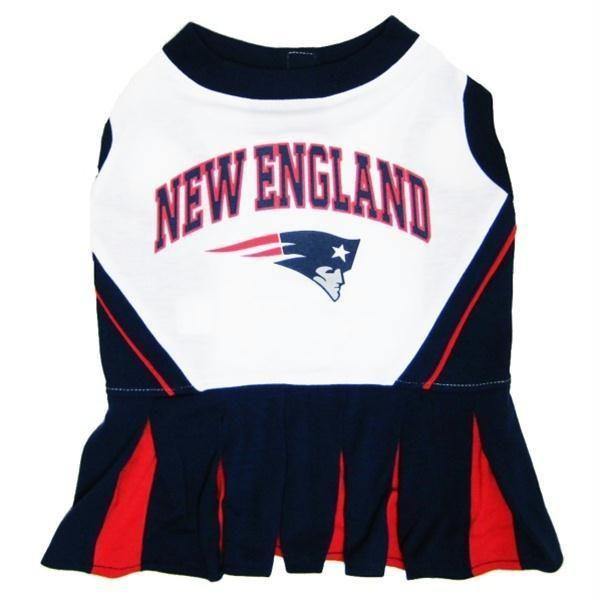 New England Patriots Cheerleader Dog Dress