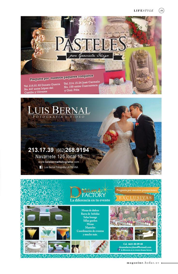 Graciela Iñigo Pastelería Luis Bernal Fotografía Dreams Factory eventos, renta de mobiliario  #Hermosillo