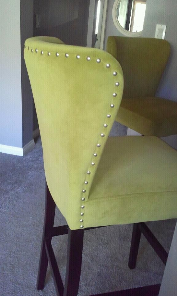 Lime Green Bar Stools That Are Actually Comfortable On My
