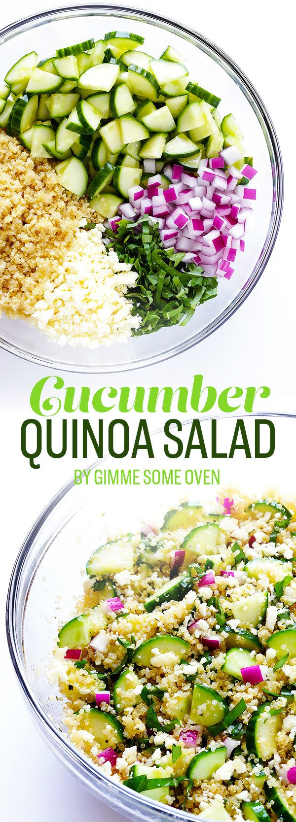 Cucumber Quinoa Salad | 7 Easy Summer Dinners To Eat This Week