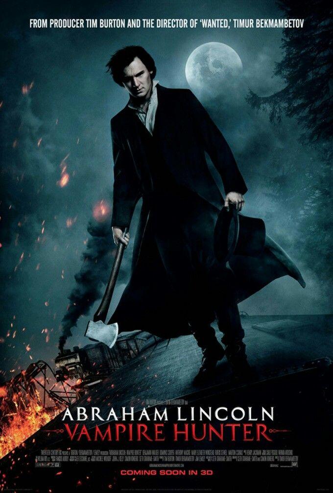 Abraham Lincoln Vampire Hunter Movie Poster Action Adventure Movie Posters Artwork Movieposters Movietwit Mega Filmes Online Vampiros Filmes De Vampiros