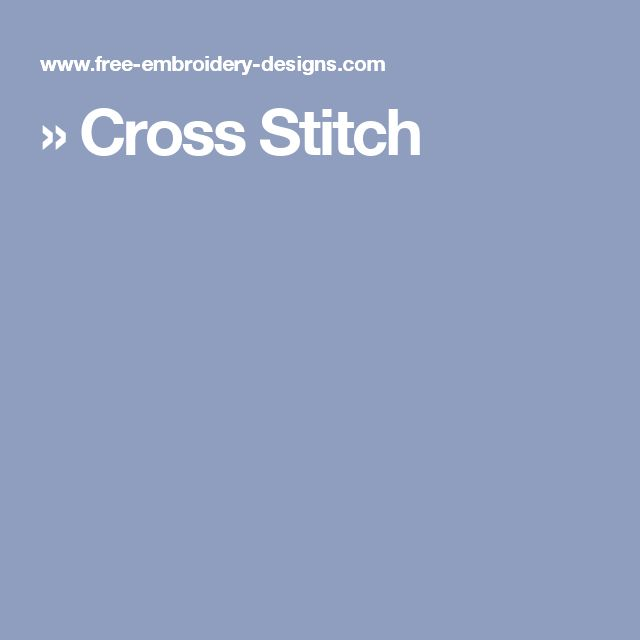 » Cross Stitch