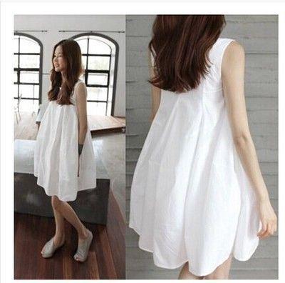 Одежда для беременных летняя одежда для беременных жидкости свободно средней длины рукавов бак жидкости цельные беременности материнства платья