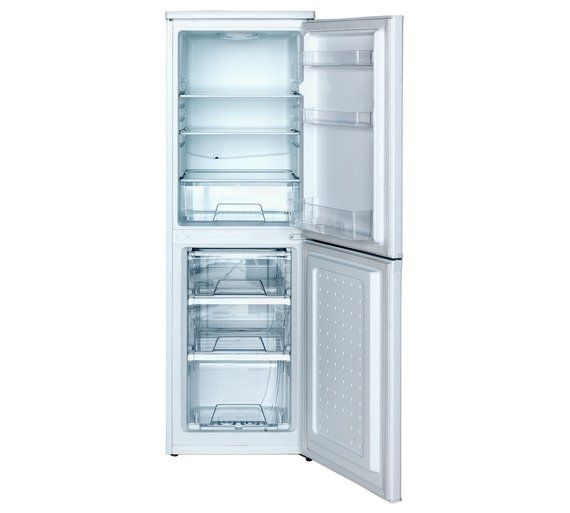 Buy Bush BSFF50152W Fridge Freezer- White at Argos.co.uk, visit Argos.co.uk to shop online for Fridge freezers, Large kitchen appliances, Home and garden