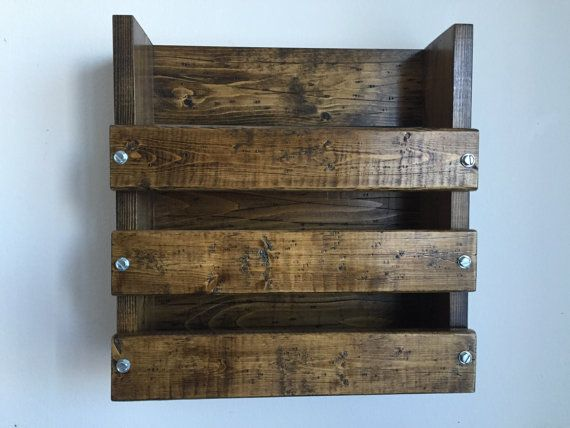 Rustic/industrial restaurant menu holder / Bar by BlackIronworks