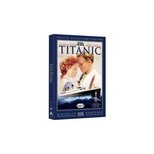 Titanic DVD ❤ liked on Polyvore featuring movies, electronics and titanic