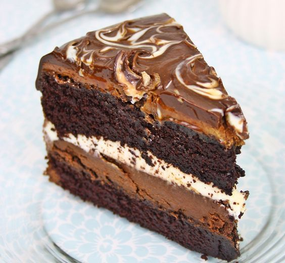 Costco Style Tuxedo Cake