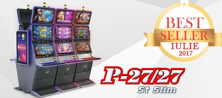 Cu un rol memorabil in dezvoltarea experientei de gaming din cazinouri si sali de joc, P-27/27 St Slim a devenit, inevitabil, Best Seller.  Vezi mai multe detalii despre P-27/27 St Slim aici: http://bit.ly/2w4buKW
