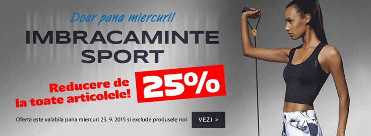 Reduceri sportive -25 %