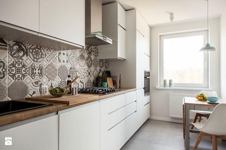 Mieszkanie w Zbąszyniu - Kuchnia, styl skandynawski - zdjęcie od Żaneta Strażyńska