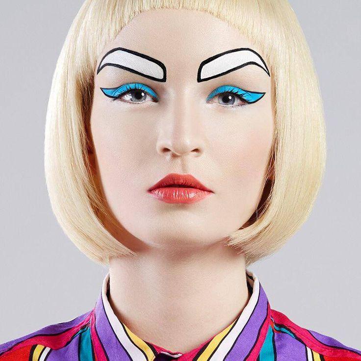 Mask / makeup by Roshar.