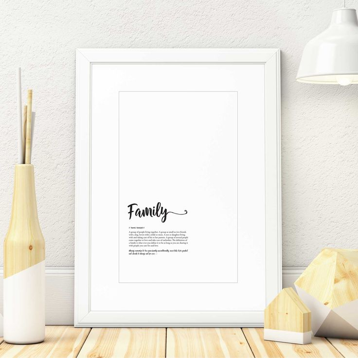 """Limited Edition ArtPrint design. """"Family"""" Also available in Norwegian """"Familie"""" ( 50x70cm )  #family #familie #definition #english #norwegians  #handwriting #artprint #artposters #posterdesign #typography #quote #211178 #madeinnorway #rawumber #umber #illustration #illustrator #photoshop #creative #designinspiration #design #adobe #creativecloud #comingsoon #limitededition #black #white #interior #interiordesign #homestyling"""