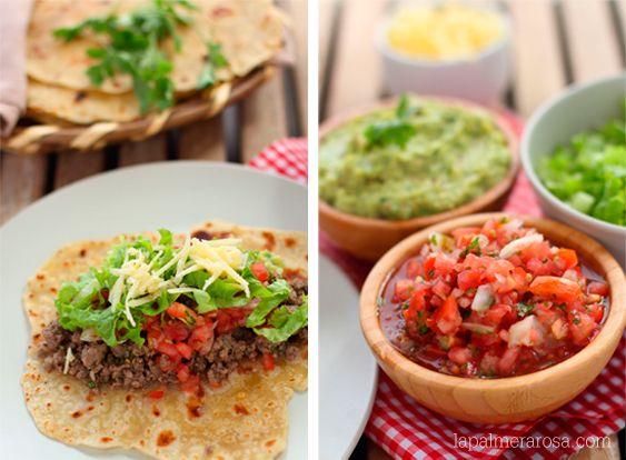 Tacos de ternera picada » lapalmerarosa