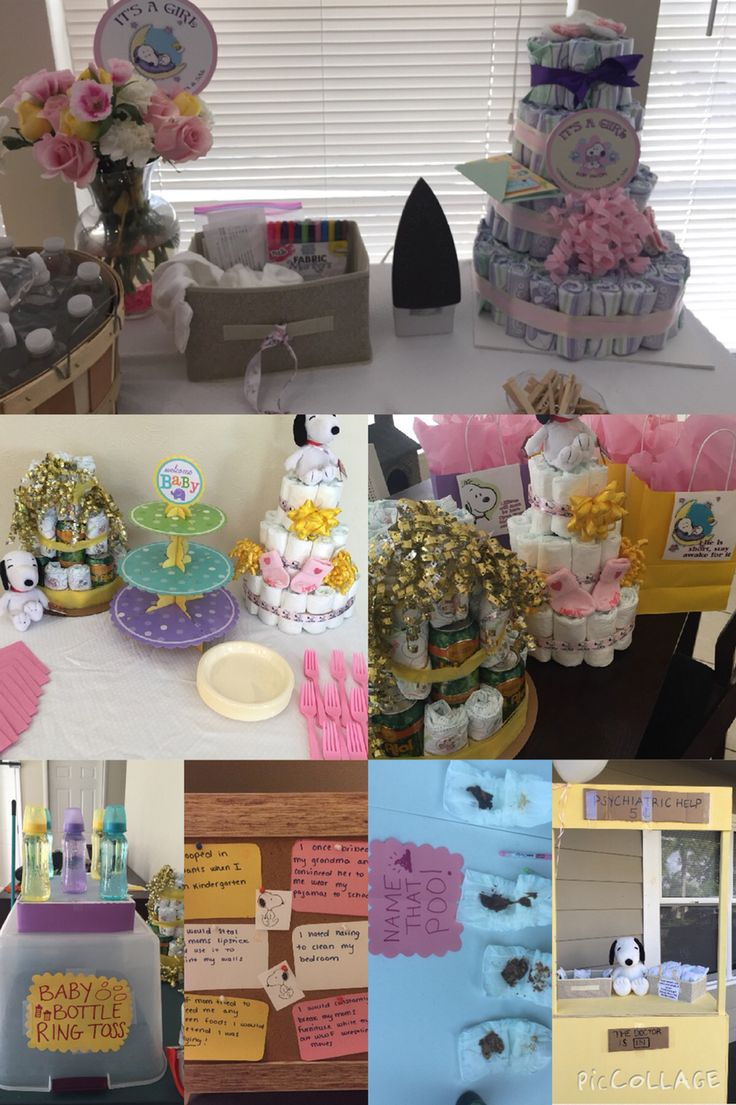 snoopy baby shower baby girl diy themed baby shower with