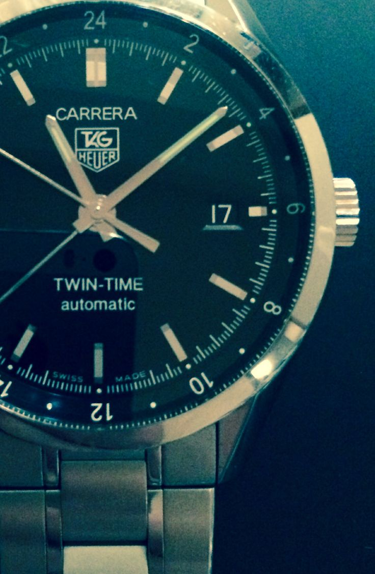 TAG HEUER CARRERA TWIN-TIME Taken with iPhone 5s