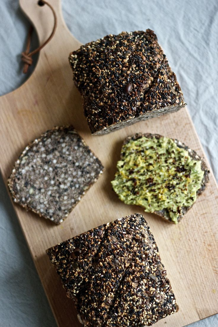 Seedy Buckwheat Bread (gf)