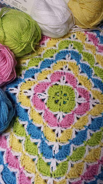 Beautiful Shells Blanket Pattern Amp Shell Stitch Tutorial