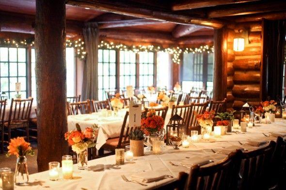 33 best images about log cabin wedding on pinterest for Log cabin wedding