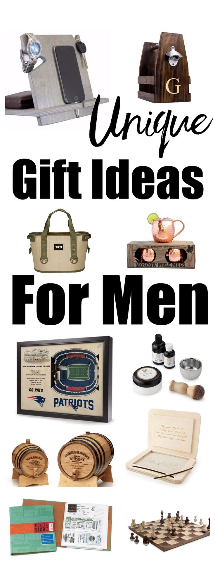 Unique gift ideas for men christmas gift ideas for men for Clever gifts for men