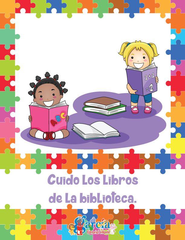 Reglas/Acuerdos para el aula: Cuido los libros de la biblioteca.