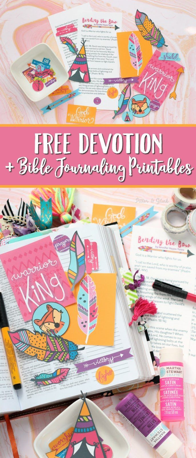 FREE Printable Devotion and Bible Journal Goodies   Homeschool Giveaways
