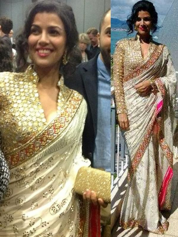 Nimrat Kaur in Abu Sandeep at Cannes