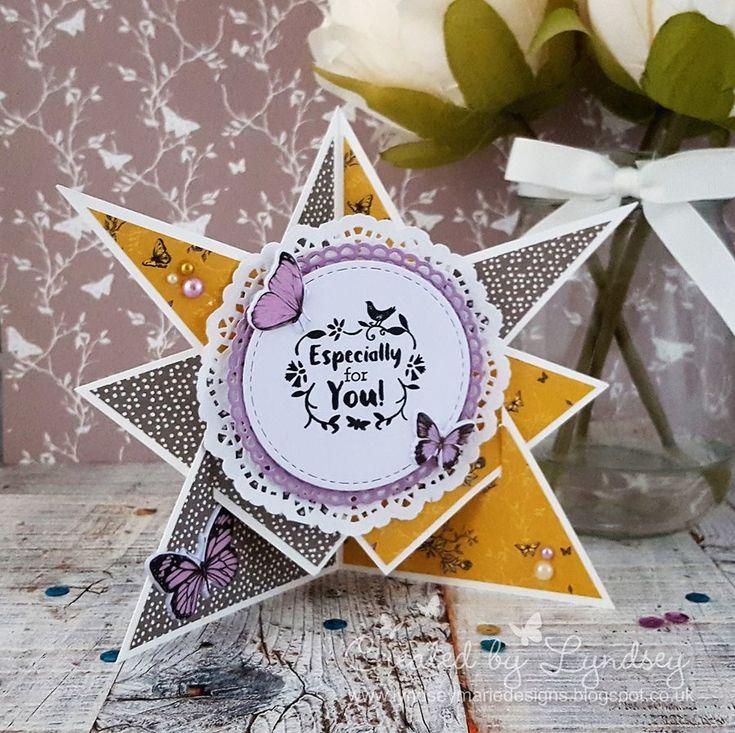 Star Effect Card - Dovecraft Nat... | Craft Inspiration