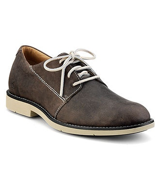 Sperry Top-Sider Shoes, Jamestown Oxford Plain Toe Shoes - Mens Lace