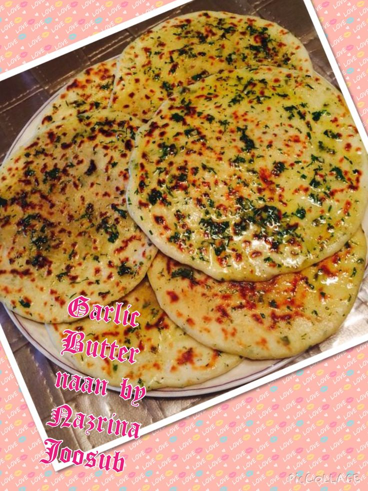 Garlic butter naan