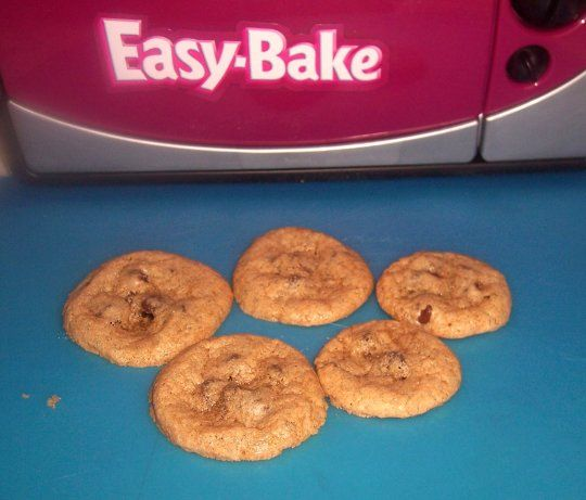 Easy bake cookie recipe - made 2 cookies in the round cake pans