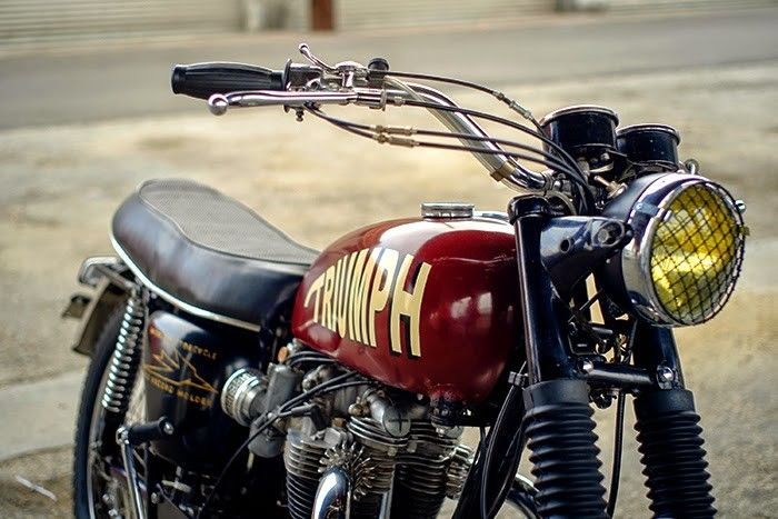 Custom 1969 Triumph Bonneville T120R