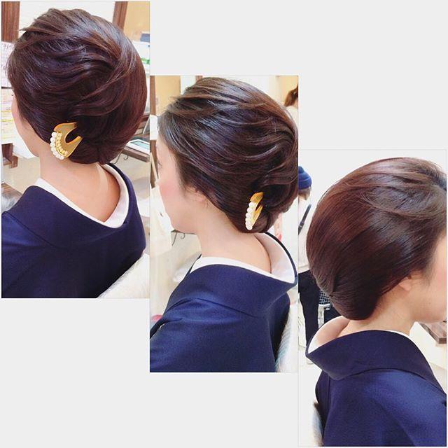 #mulpix ︎ お着物ヘア(^^) ︎ いつも素敵な ︎ ホステスさん♡ ︎ #ヘアセット #ヘアアレンジ #ヘアスタイル #アップ #hair #hairset #hairarrange #ヘアメイク #着物 #ウェディング #セットサロン #和髪 #和装